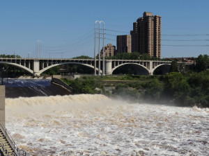 St. Anthony Falls, Minneapolis Photo