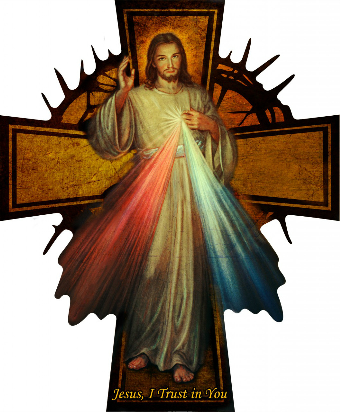 Divine Mercy Cross