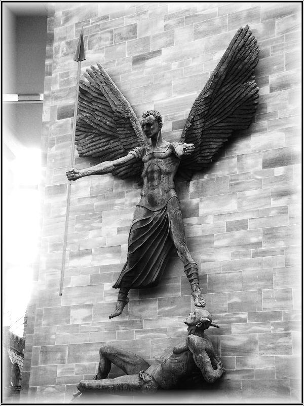Archangel Michael's Triumph over the Devil